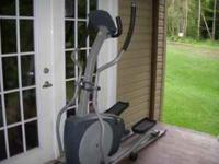 Great addition to any home gym Elliptical trainer