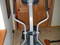 Nice condition elliptical. About 5 years old, not much