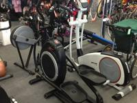 We have some NEW Schwinn 425 Ellipitcals.  We have them
