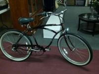 Men's Schwinn 6 Speed Cruiser Excellent Condition