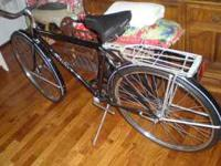 a sharp all org, schwinn racer, great cond, 2d owner,