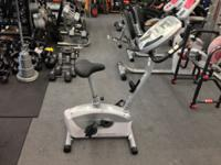 We have some NEW Schwinn a15 Upright exercise bikes.