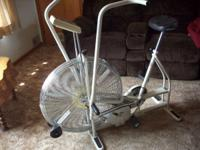 Schwinn Aerodyne Exercise Bike.has all the bells and