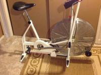 For sale is a Schwinn Air-Dyne stationary bike in ideal