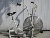 The quality Schwin Airdyne stationary exercise bike was