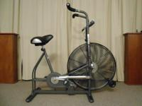 SCHWINN AIRDYNE WITH WIND RESISTANCE -Dual action