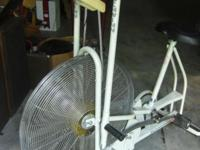 SCHWINN AIRDYNE EXERCISE BIKE It's Ivory, when it was