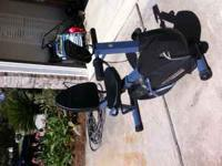 Schwinn Airdyne Stationary Bike with electronics. Good