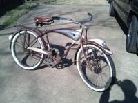 I have (2) vintage tank bikes from the the 50's.These