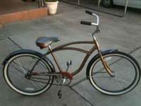 "26"" SCHWINN CRUISER IT'S A SINGLE SPEED WITH COASTER"