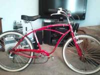 Chicago Schwinn cruiser, Good tires, Red good condition