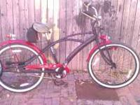 I have for sale a schwinn beach cruiser flat black