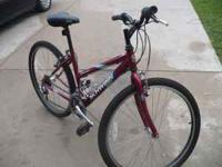 I am selling a 26 inch Schwinn Bicycle..It is in great