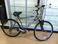 For sale is a Schwinn bicycle.  Model # frontier.
