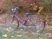 Woman's Schwinn World Tourist 15-Speed Bicycle - $75,