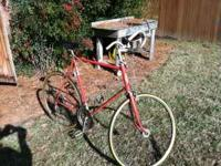"27"" Schwinn Continental Bike (Vintage); good condition."