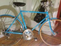 Antique Sky Blue Original Parts 10 Speed Working Front