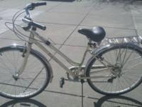 7-speed cream colored Schwinn Gateway for sale. Last