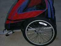 For Sale! Schwinn bike trailer/stroller. Seats 2