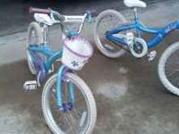 2 schwinn girls bicycles in good shape. Asking $30.00 a