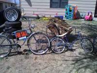 I have 2 schwinn bikes for sale Blue Bike--$250 Other