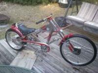 Immaculate Schwinn chopper bicycle. Like new, still has