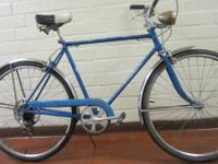 . Schwinn Collegiate Chicago August 1969 Guys's 21 inch