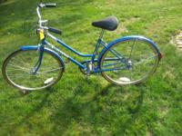 Vintage Schwinn Collegiate women's road bicycle. Cost