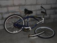 Schwinn Cruiser Deluxe with springer front, needs a
