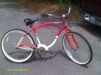 i have an almost new schwinn panther cruiser for sale.