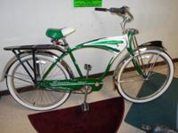 SCHWINN CRUISER DELUXE 7 BICYCLE. A highly collectible