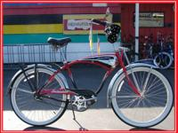 SCHWINN CRUISER DELUXE. -CLASSIC LOOK. -ALL ORIGINAL.