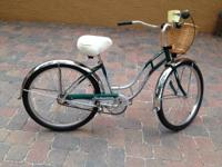 THIS IS A GENUINE SCHWINN CRUISER FOUR LADIES BIKE THAT