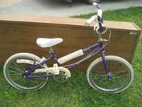I am selling this Schwinn girls bike. The price is just