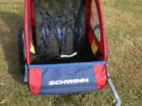 Schwinn Double Bike Trailer/Stroller. This trailer can