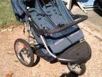 I'm selling a Schwinn Double Jogging Stroller. It is