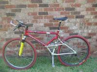 I have a Schwinn Six 9 Six, Homegrown, duel suspension