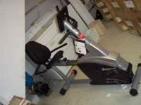Schwinn Recumbent fitness bike 102-202, bio connect