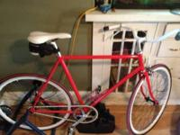 I have a completely rebuilt schwinn that I converted