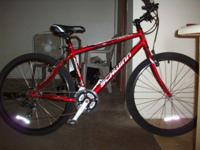"Schwinn Frontier mtb, 26"" wheels, M, red, excellent to"