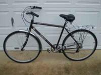 Up for sale is a Cruiser City Bicycle. Make: Schwinn