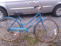 Schwinn World Tourist (not sure of year and believe it