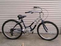 "Schwinn Jaguar Retro Cruiser Bicycle. 26"", 7 speed"