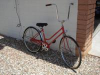 Schwinn women 1960's vintage 26 inch single speed