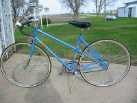 Schwinn Le Tour III Blue Touring Bike. I purchased in