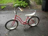 "Vintage 1960's or 1970's Schwinn Lil' Chick 20"" bicycle"