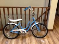 In excellent  condition.  No rust or dents.  Tires are