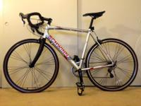 Schwinn aluminum road frame with carbon fibre road fork