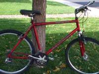 I have a Schwinn Mesa Mtn Bike for sale. It has