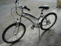 up for sale is a Schwinn midtown 21 speed shimano equip